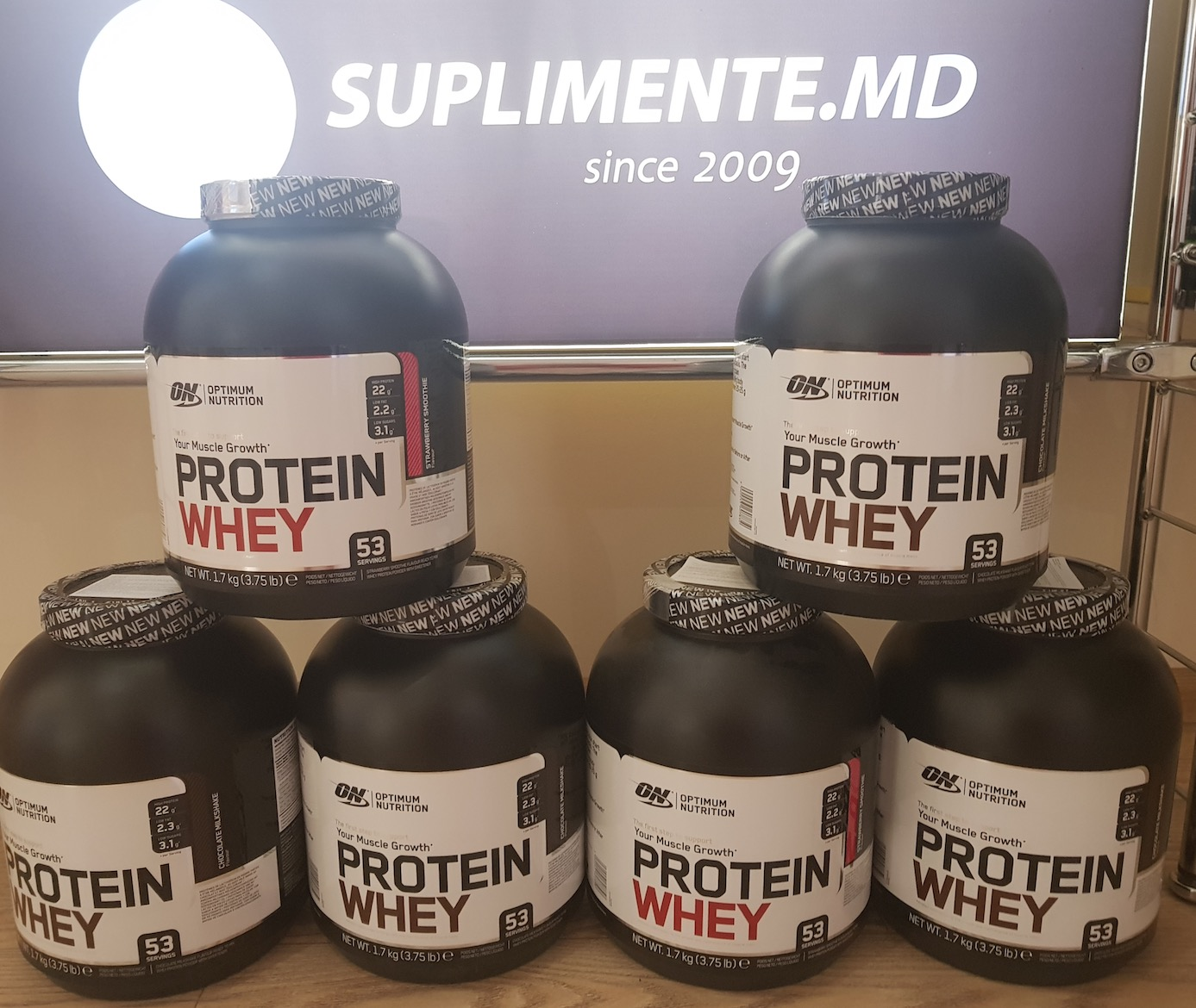 Optimum Protein Whey - 999 лей !