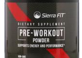Sierra Fit PRE WORKOUT POWDER (30 тренировок)